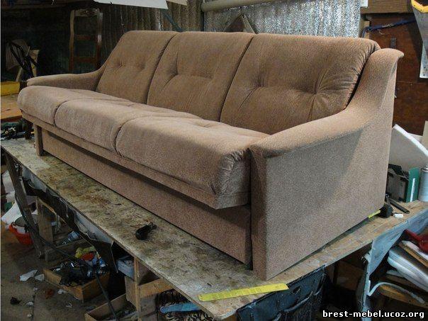Перетяжка мягкой мебели в бресте